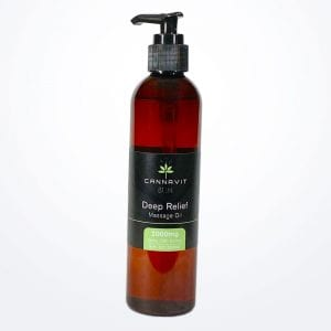Cannavit 920 Deep Relief 2000mg Massage Oil