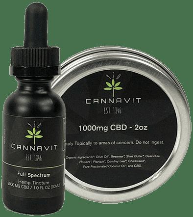 Cannavit 920 Tincture & Salve